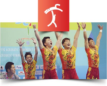 Men's Group Acrobatic Gymnastics