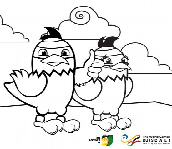 Picture for coloring by kids